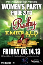 Ruby Pride Flyer Rev